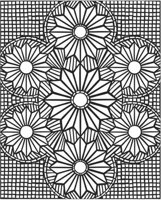 Mosaic Coloring Pages For Adults Picture 3 | free sample | Join fb ...