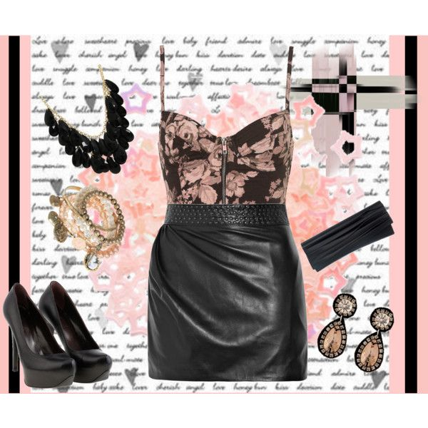 Edgy Glam, created by me, sugarbear98.polyvore.com