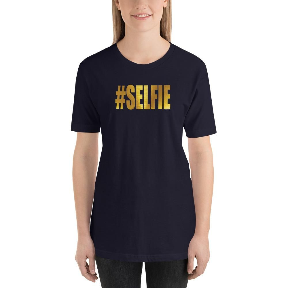 775b9ee5 GOLDEN #SELFIE Unisex Short-Sleeve T-Shirt - Size XS-XL - 10 Color ...