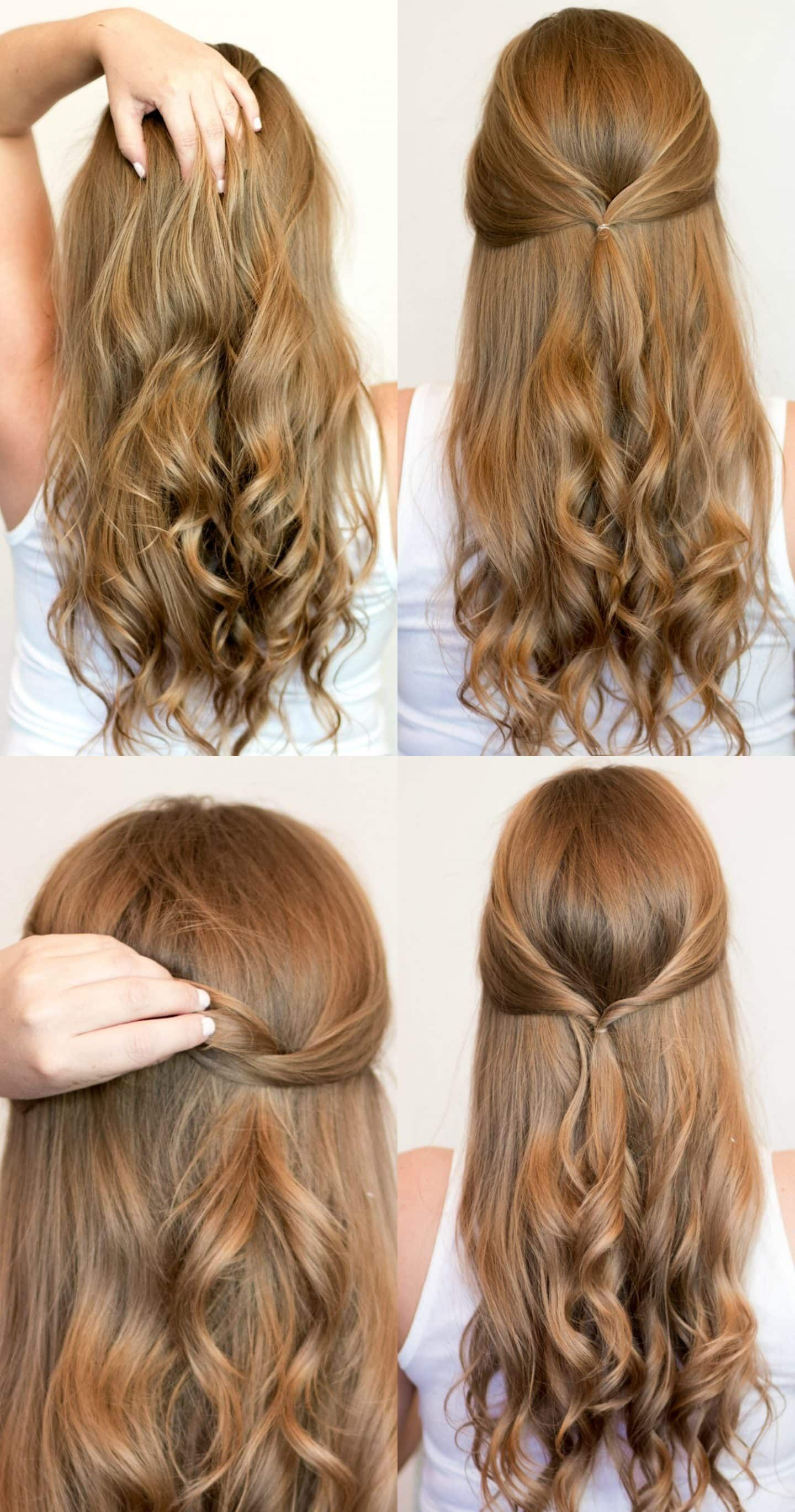Easy Heatless Hairstyles For Long Hair Ashley Brooke Hair Easy Long Hairstyles H In 2020 Heatless Hairstyles Easy Hairstyles For Long Hair Long Hair Styles