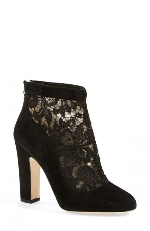 Dolce Gabbana Lace Ankle Booties Women | Shoes, Boots and Footwear