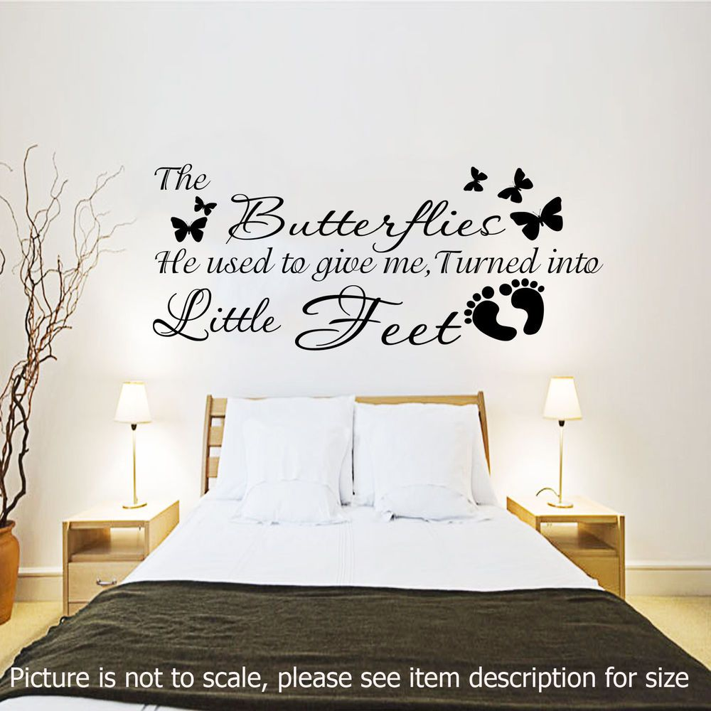 Bedroom wall art quotes - Wall Stickers Pregnancy Wall Quotes Bedroom Nursery Wall Decals Vinyl Murals
