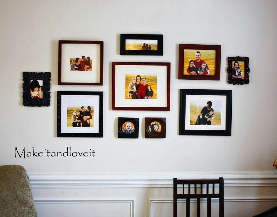 💚Wall Frames Collage Ideas💚 | picture wall | Pinterest | Decorar ...