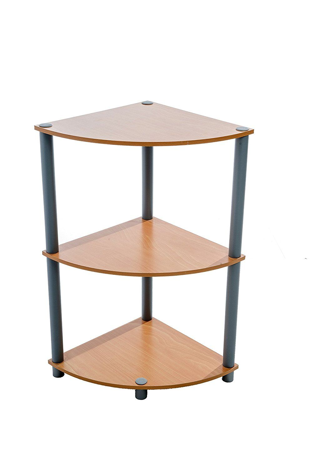 Home Source Industries Mr 2023 Multi Purpose Corner Shelf Rack Maple Finish Special Product Just For You See It Now Corner Shelves Shelves Tv Stand Wood