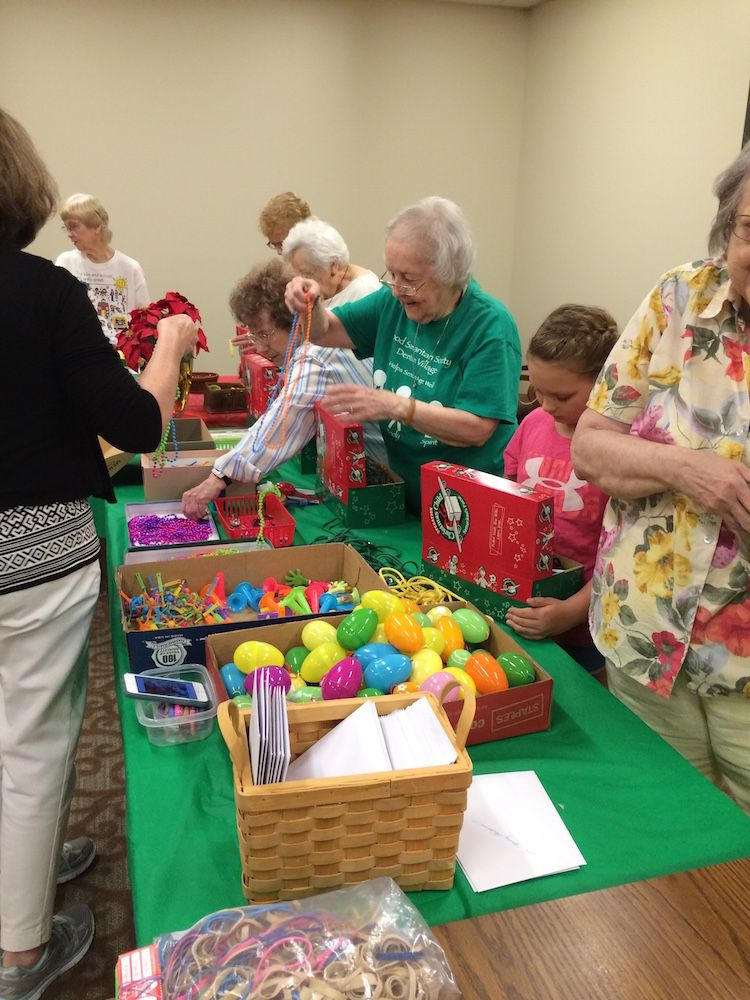 Senior Christmas Party Ideas Part - 46: Shoebox Packing Party #3. Senior Living CommunitiesGood SamaritanShoebox  IdeasOperation Christmas ...