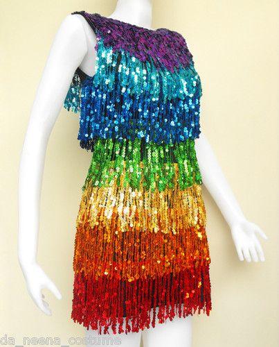 768ce0c462 Details about Da NeeNa RB2 Latin Chacha Drag Queen Salsa Dance Dress ...