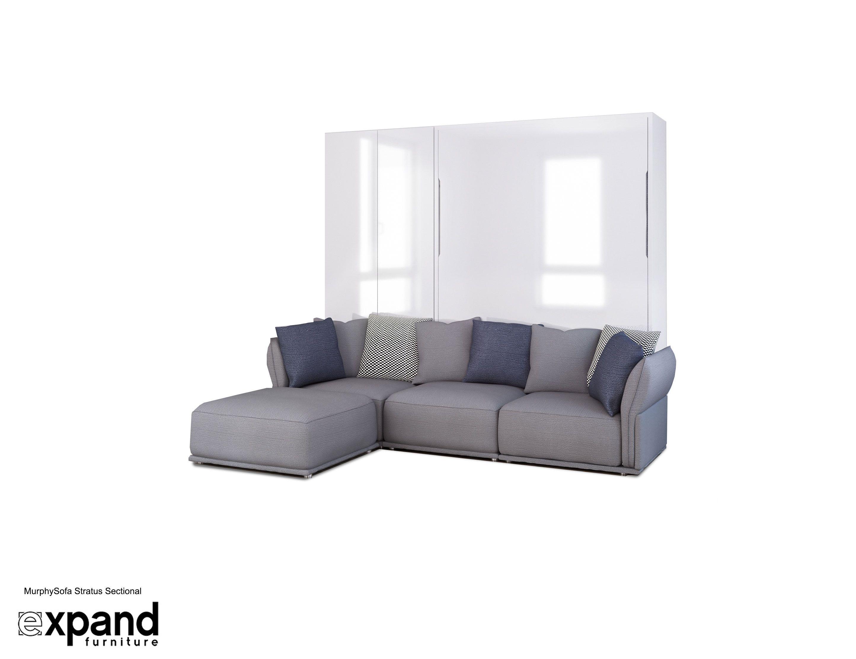 MurphySofa Stratus: Queen Sectional Sofa Set in 2019 | Hidden Beds ...