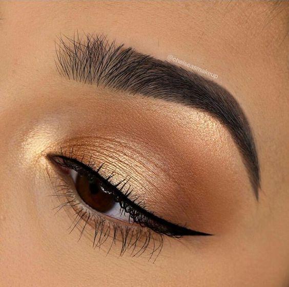 2019 Beautiful Makeup Styles for Brown Eyes - Naija's Daily -  2019 Beautiful Makeup Styles for Bro