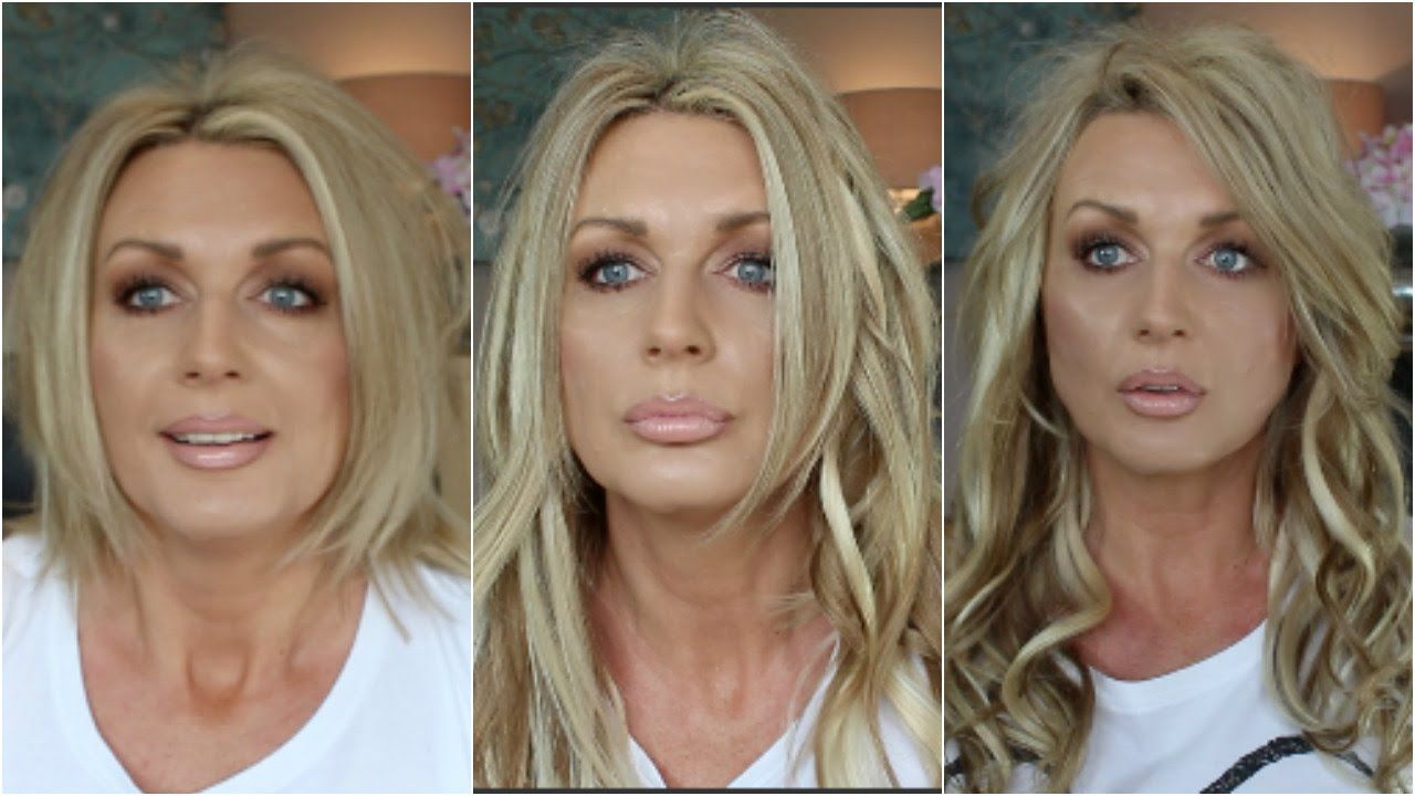 Instant Highlights Lowlights With Hair Extensions Youtube Hey