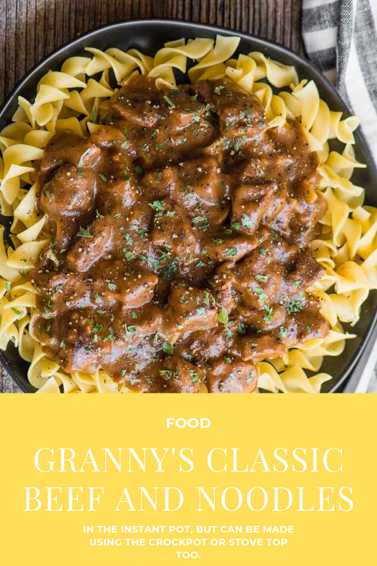 Photo of Granny's Classic Beef and Noodles