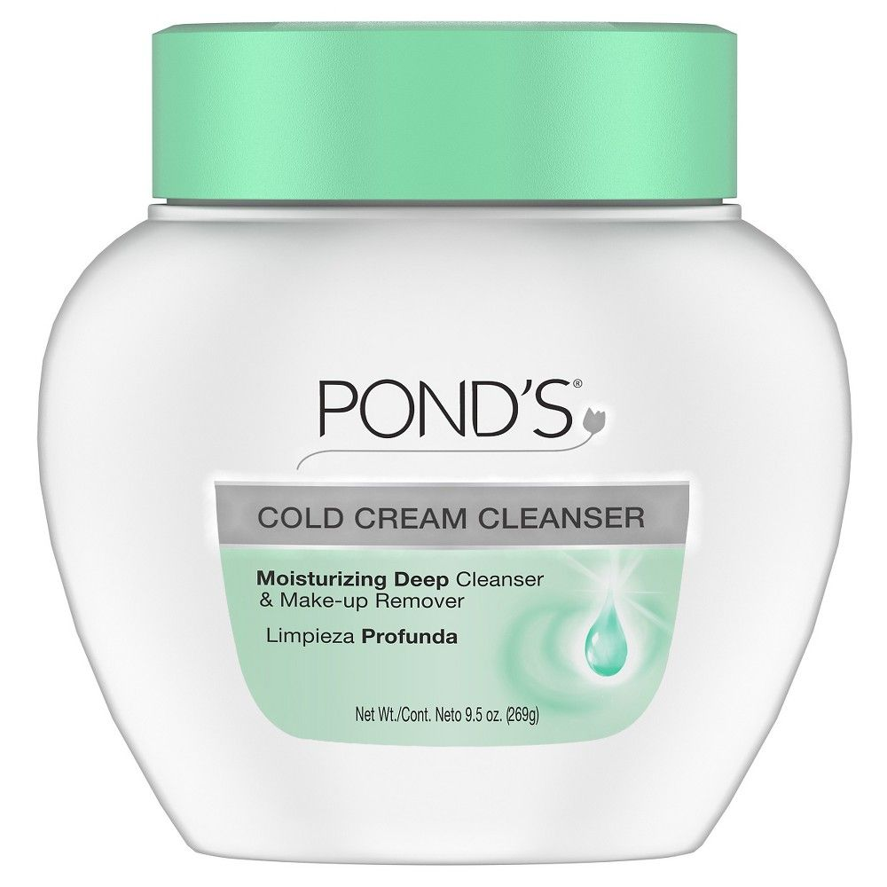 Pond S Cold Cream Makeup Remover Deep Cleanser 9 5oz Ponds Cold Cream Cream For Dry Skin Cold Cream