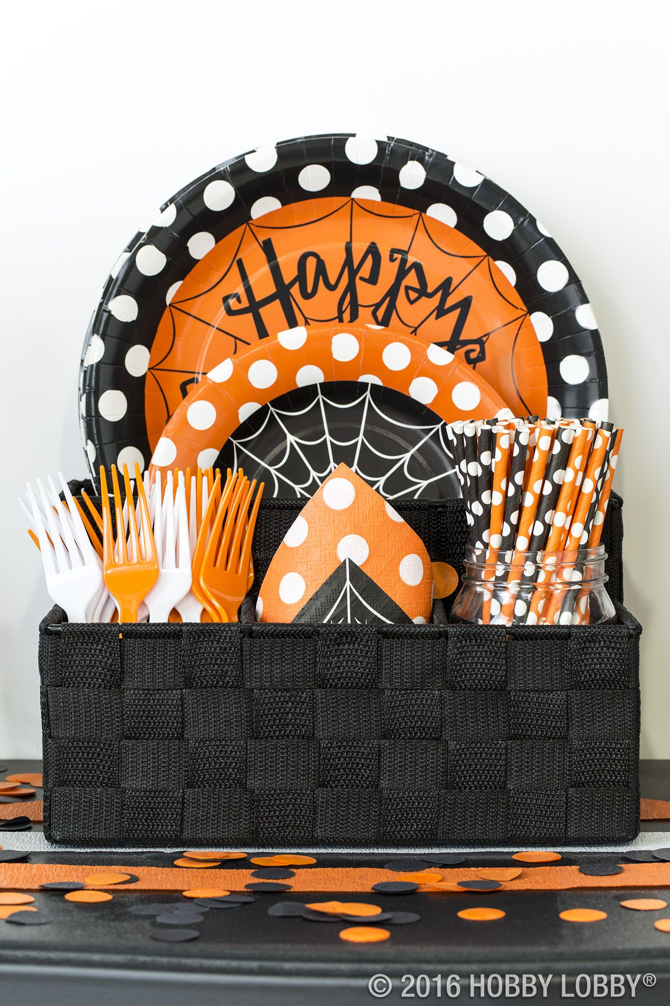 Set the scene this Halloween with spooky-cute party decor - Hobby Lobby Halloween Decorations