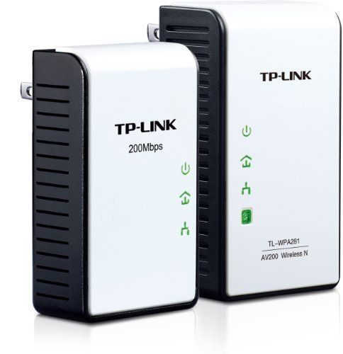 TP-LINK TL-WPA281 KIT 300Mbps Wireless N Powerline Adapter Starter Kit, 2.4Ghz N300 Adapter + 200Mbps Adapter, 802.11b/g/n by TP-Link. $72.99. From the Manufacturer                             h1 ul li {       margin: 0.5em 1em;       list-style-type: disc;       }            TP-LINK's TL-WPA281KIT uses your home's existing electrical wires to create or expand your home network. With the TL-WPA281KIT,                devices can either receive an internet con...