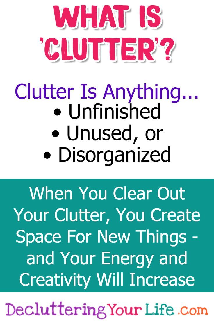 how to clear clutter and get organized