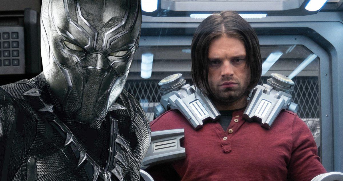 Will Winter Soldier Return in Black Panther? -- Sebastian Stan says the 'natural progression' for Winter Soldier would be to appear in the Black Panther movie. -- http://movieweb.com/black-panther-movie-winter-soldier-sebastian-stan/