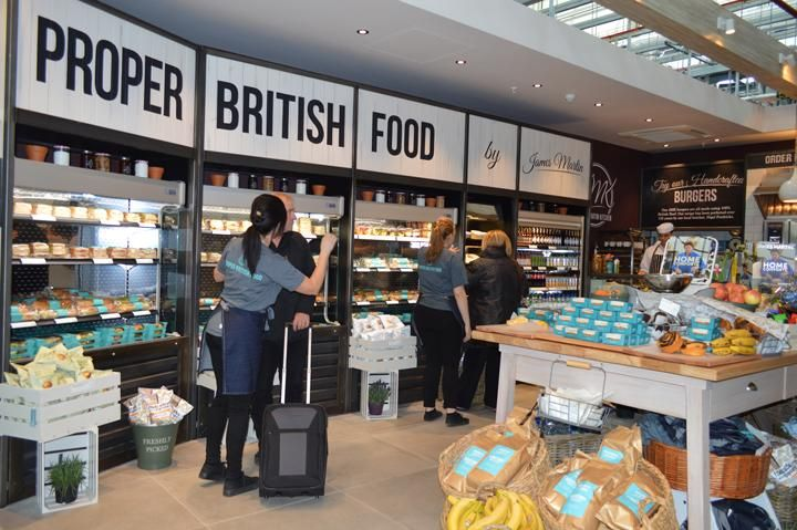 James Martin Kitchen At Stansted Airport Premium Bakery That
