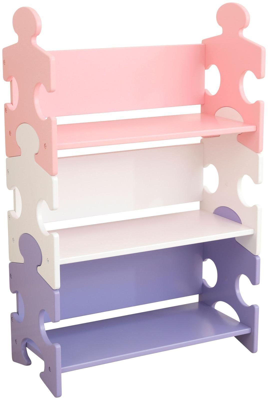 Puzzle Bookshelf - Pastel