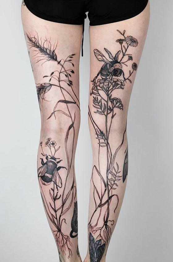 Photo of Joanna Swirska Dzo Lama bee Tattoo #flowertattoos,  #Bee #Dzo #flowertattoos #Joanna #Lama #s…