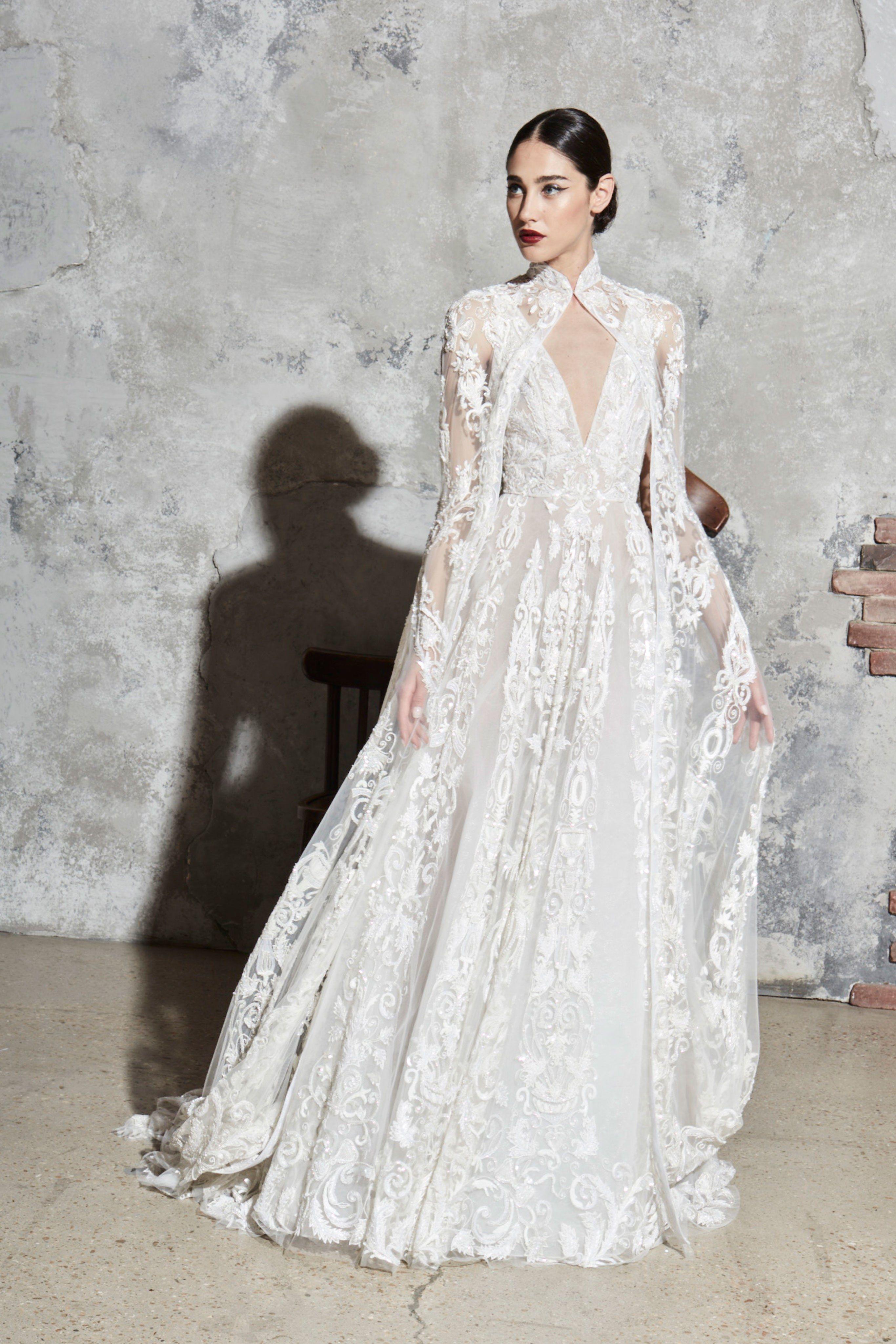 Zuhair Murad Bridal Spring 2020 Fashion Show Winter Wedding Dress Zuhair Murad Bridal Bridal Dresses
