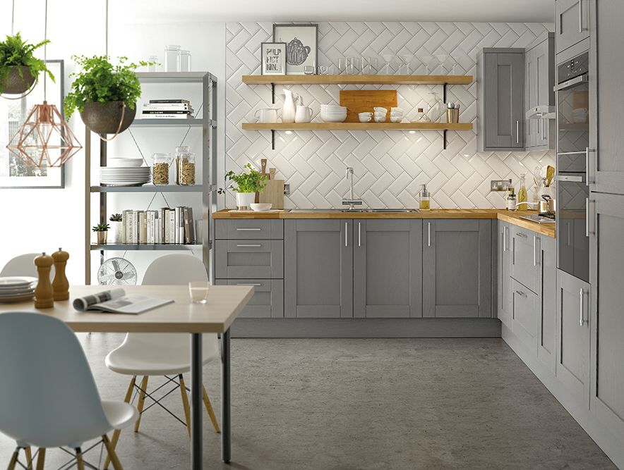 The Steamer kitchen from the new kit+kaboodle Homebase range is both ...