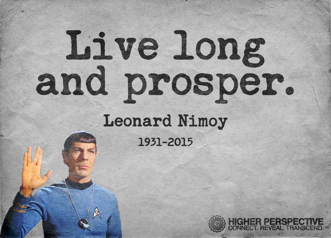 Leonard Nimoy  Gone but not forgotten  Pinterest  Leonard nimoy