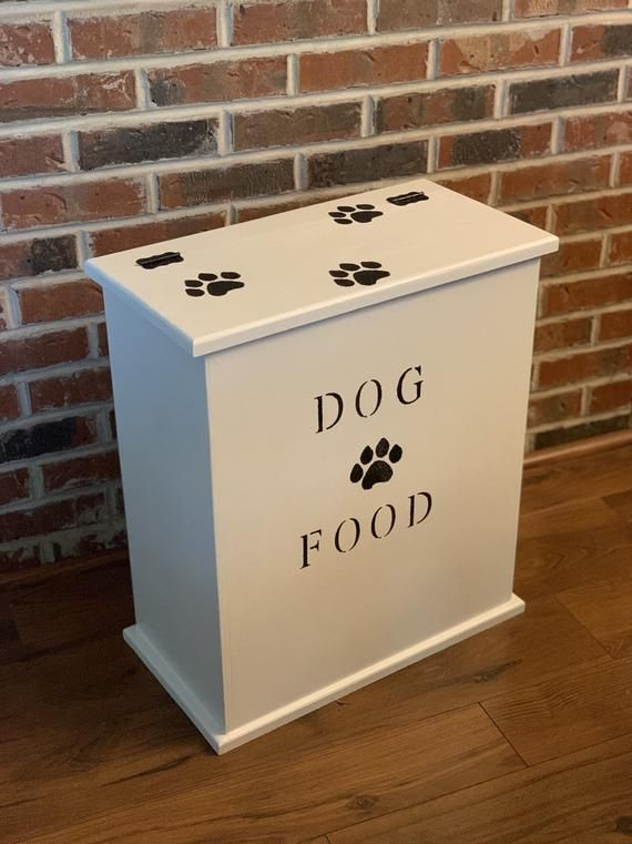 Dog food cabinet, personalized dog gifts for owners, dog ...
