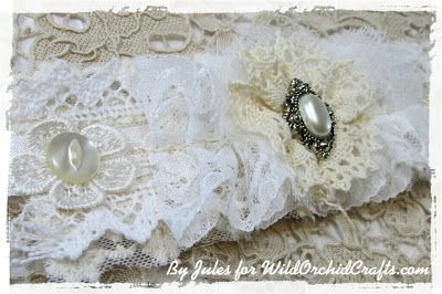 """The Jule Box"": Shabby Chic Lace Cuff/Bracelet!"
