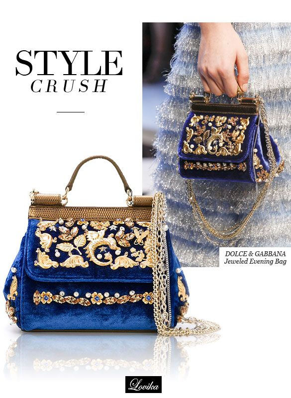 2fee3946bb Style Crush Dolce Gabbana Jeweled Evening Bags
