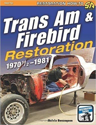 pontiac trans am restoration manual