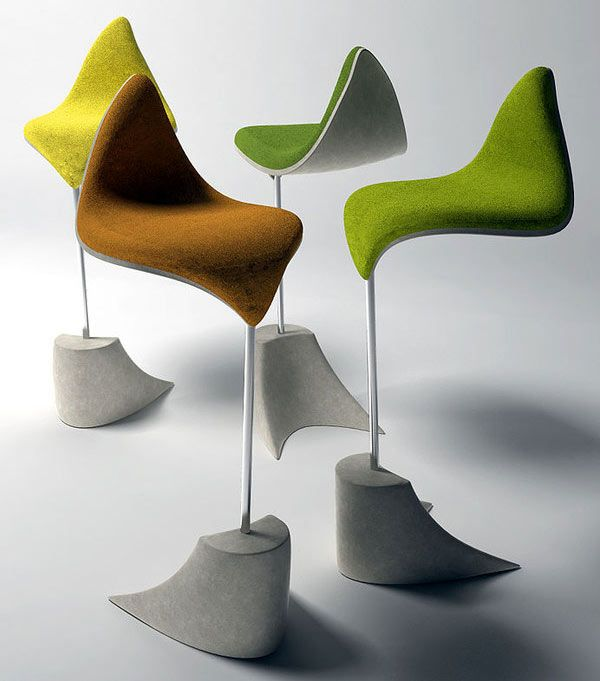 Amazing Autumn Inspiration Chair Designs With Leaf Inspired Leaf