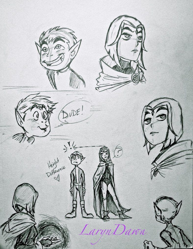 Raven And Beast Boy Love Fanfiction Beast boy and Raven Fa...