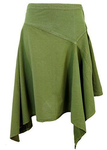 Guru Shop De zipfelrock olive kurze röcke variante guru shop http