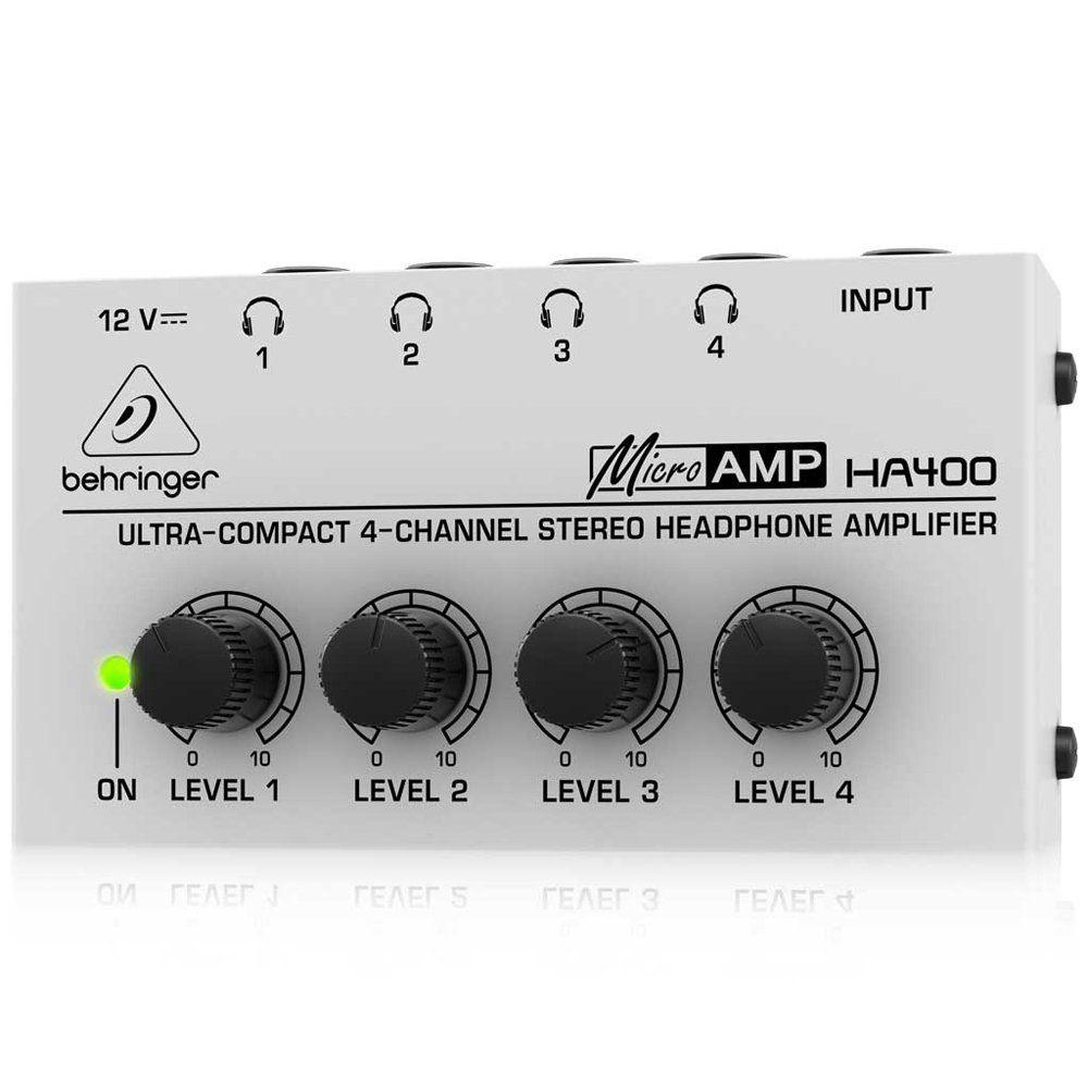 Behringer HA400 Microamp 4 Channel Stereo Headphone