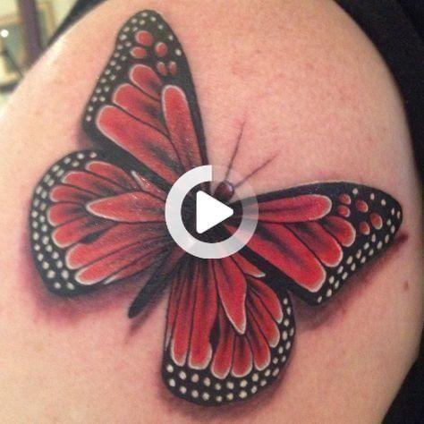 Photo of Monarchfalter Tattoo. Beginn meines halben Ärmels – # –  Monarchfalter Tattoo. Beginn meines halben