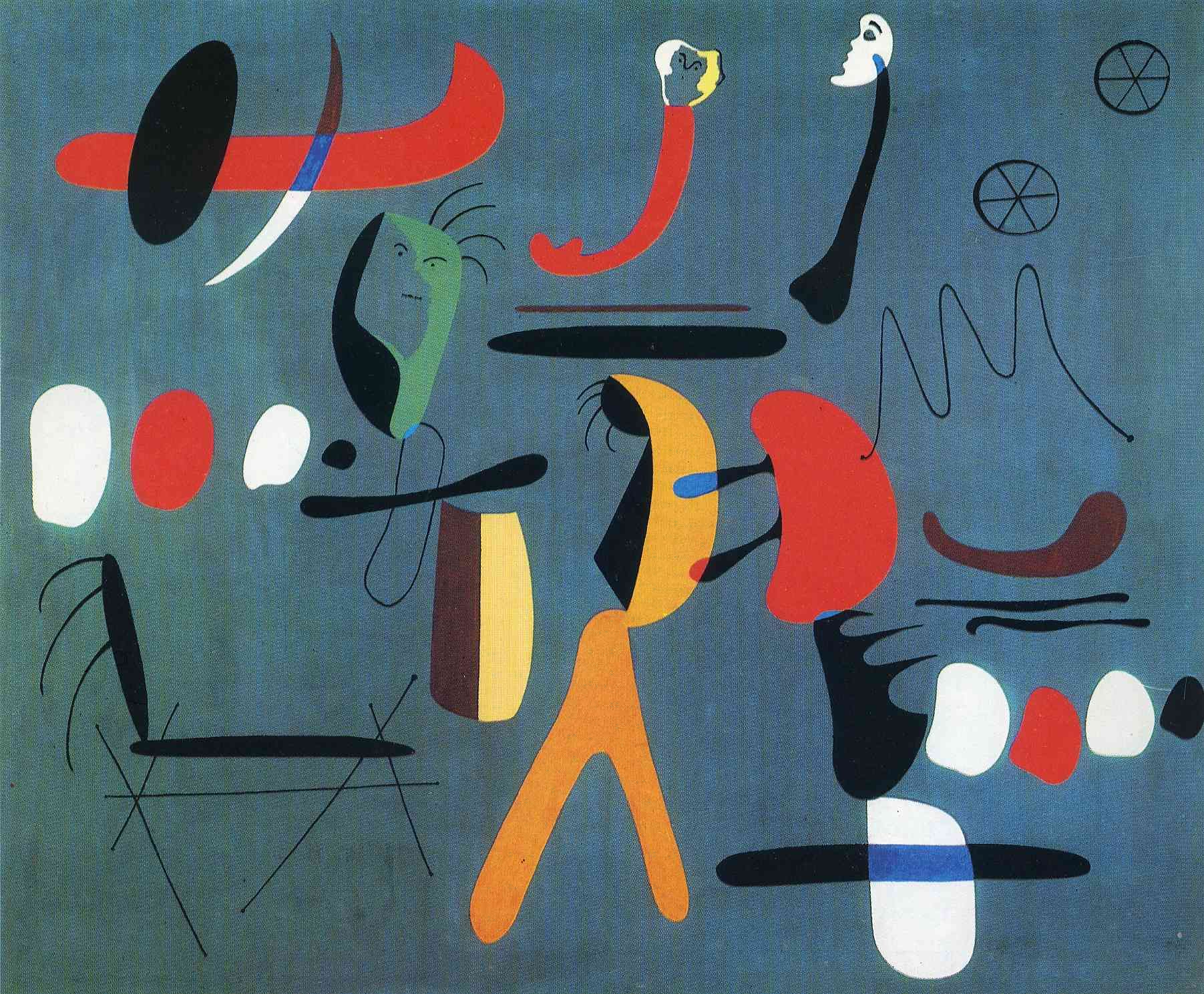 joan miro paintings   Painting - Joan Miro - WikiPaintings.org ...