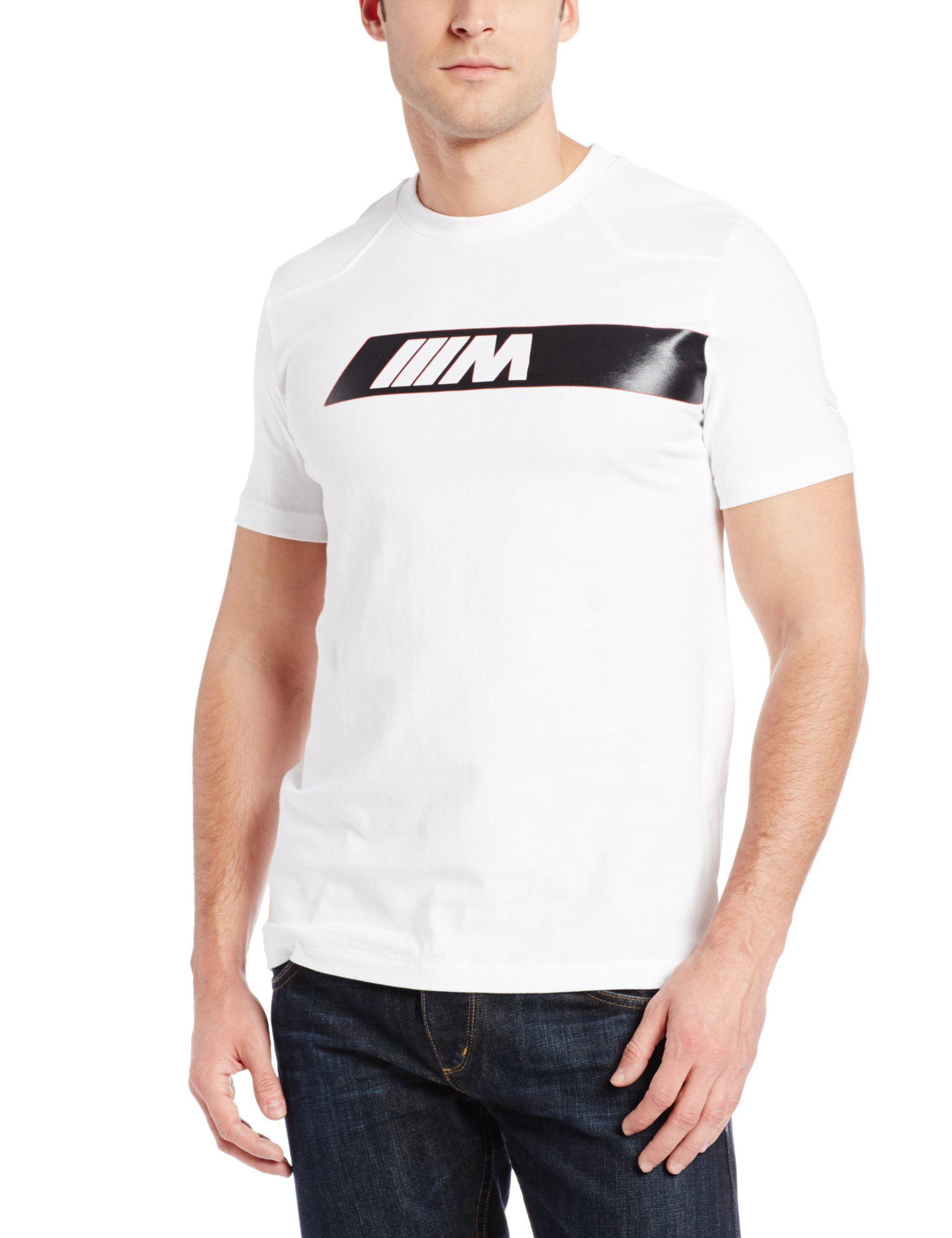 Amazon.com: PUMA Men's BMW M Logo Tee: Clothing