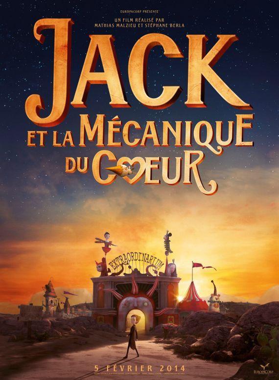 Après l'album et le livre, le film: Jack et la Mécanique du coeur