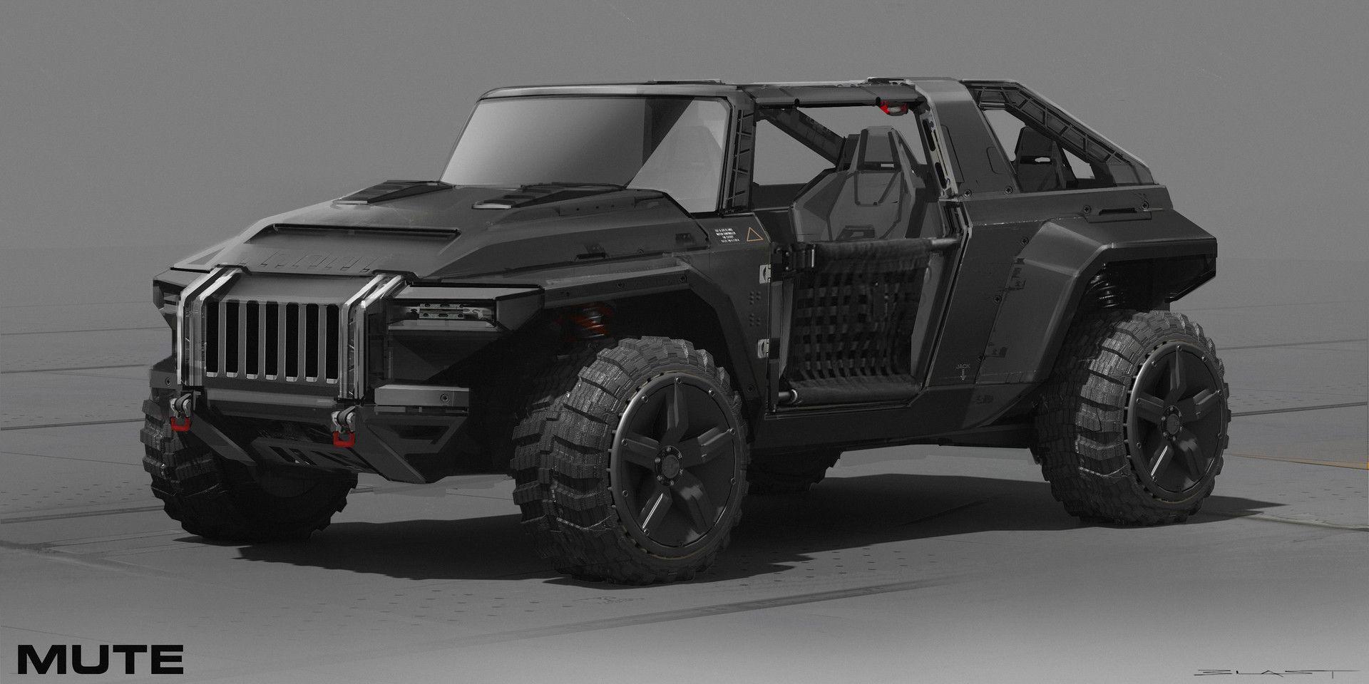 ArtStation - MUTE Cactus Jeep Development, Benjamin Last | Shadowrun ...