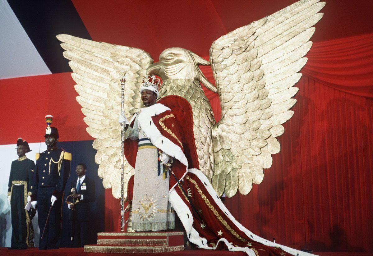 BLACK EMPEROR : http://en.wikipedia.org/wiki/Jean-Bédel_Bokassa