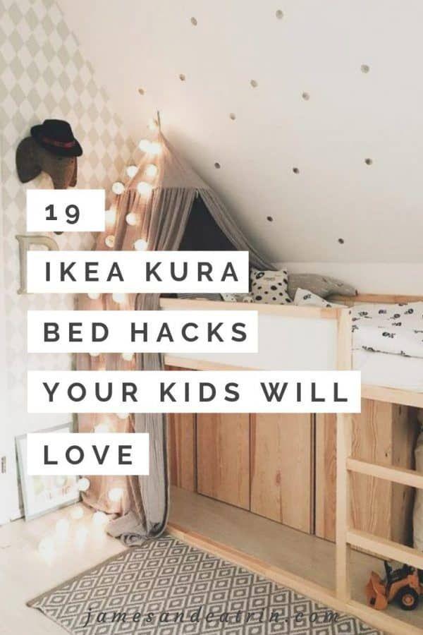 19 Ikea Kura Bed Hacks your Kids will Love james and