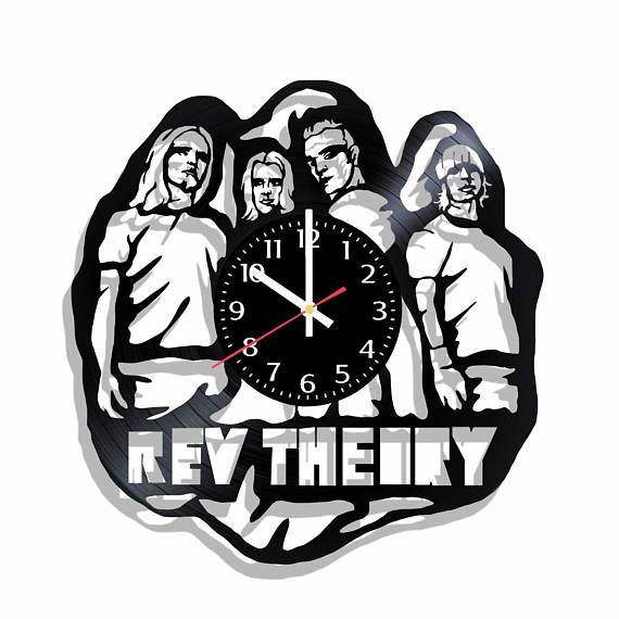 REV THEORY Autograph LIGHT IT UP CD Signed by All Band ... |Rev Theory Band Logo