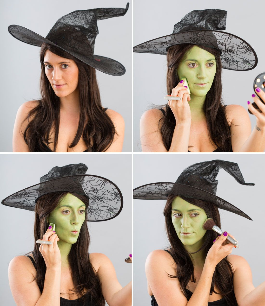 Halloween Makeup 101 Turn Yourself into a Witch Kids
