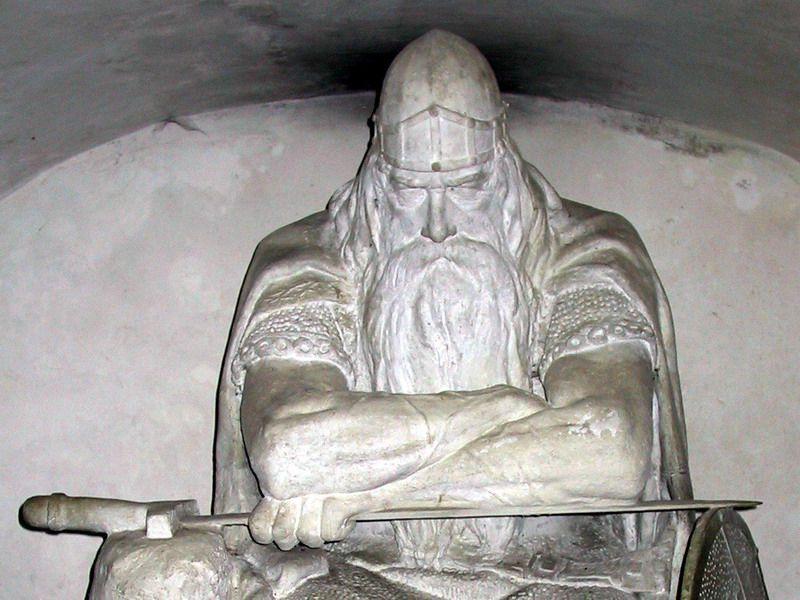 Holger Danske The 12th Viking Statue At Kronborg Castle In
