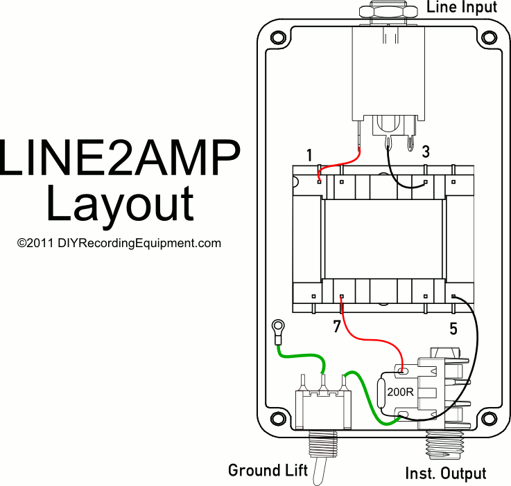 Pedalboard Junction Box Schematic ~ The Distortion