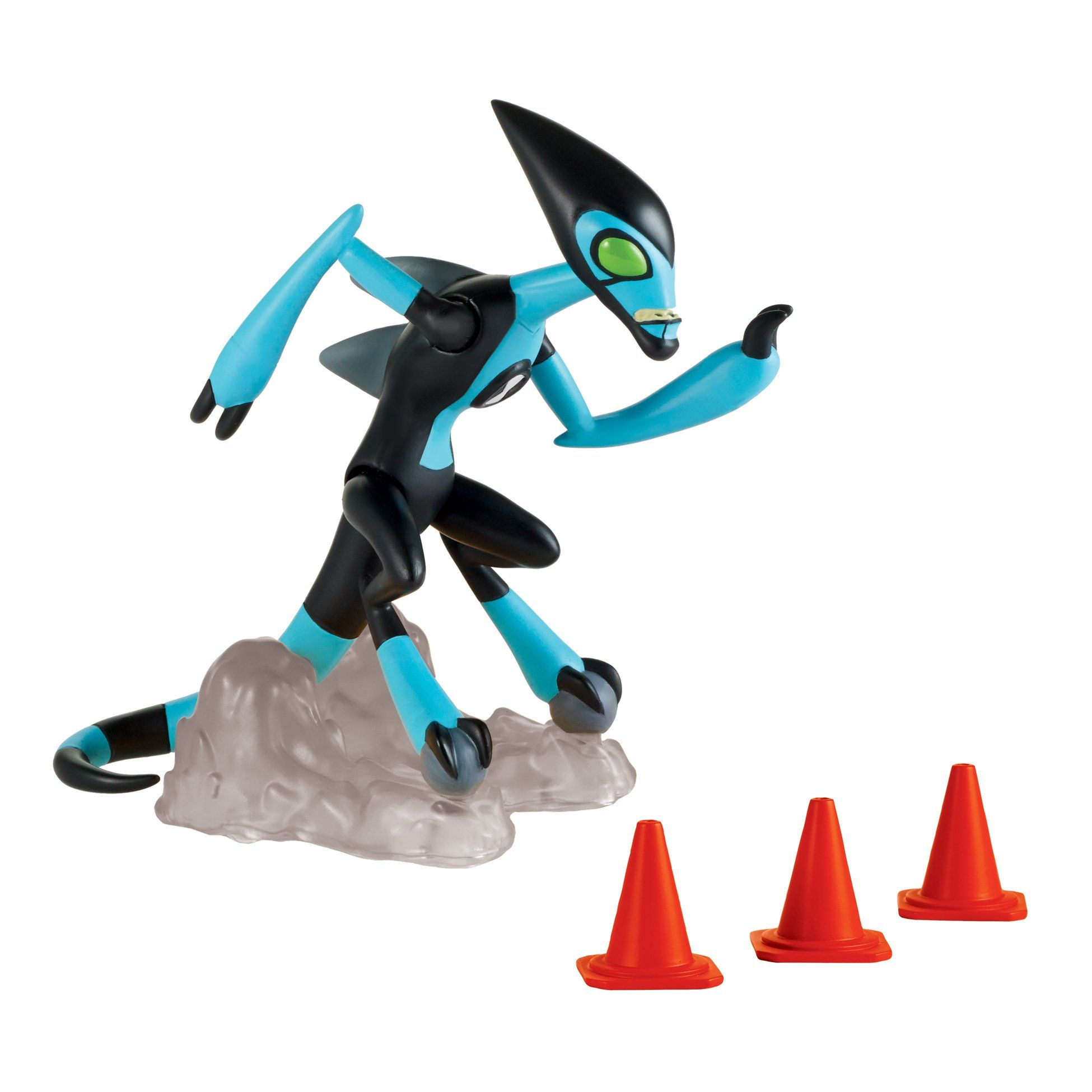 Ben 10 Xlr8 Basic Action Figure The Fastest Alien Of Them All