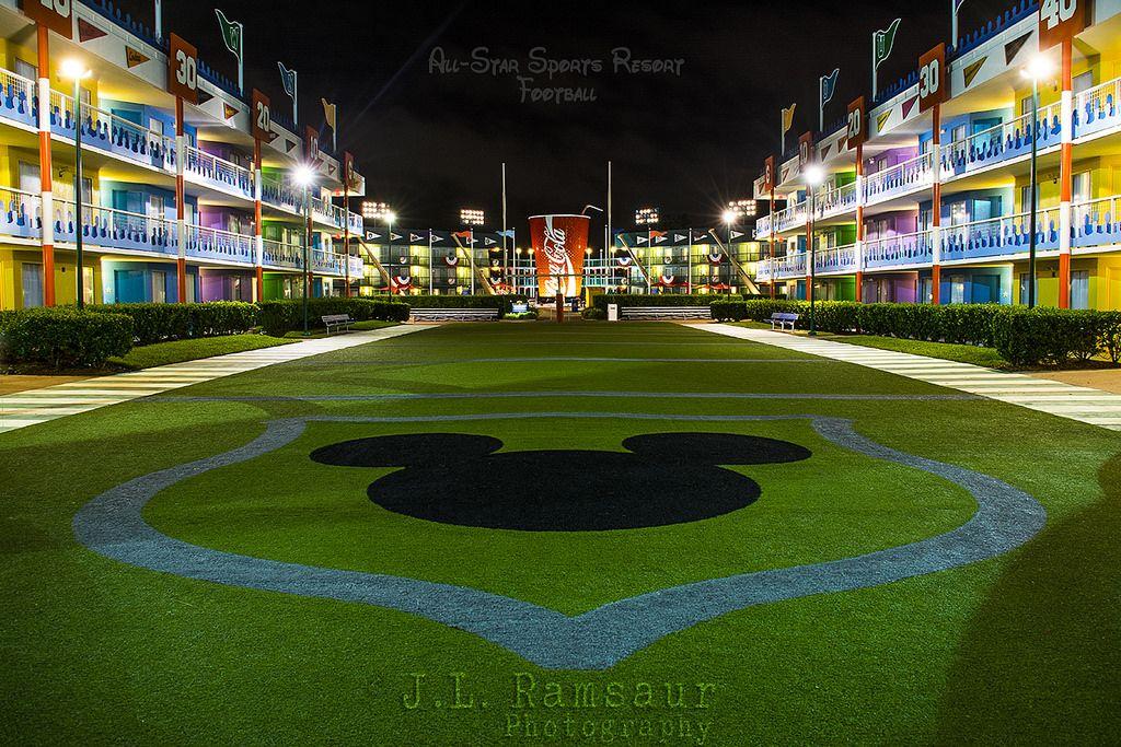 AllStar Sports Football Resort Walt Disney World Walt