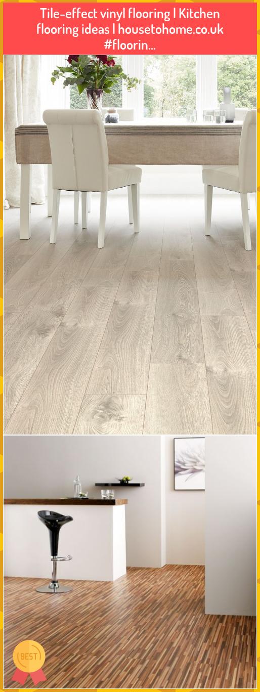 Tile-effect vinyl flooring   Kitchen flooring ideas   housetohome.co.uk #floorin... #Tile-effect #vinyl #flooring #Kitchen #flooring #ideas #housetohome.co.uk ##floorin...