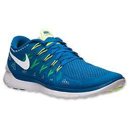 low priced ab614 7c1b8 Men s Nike Free 5.0 2014 Running Shoes   Finish Line   Military  Blue White Polarized Blue
