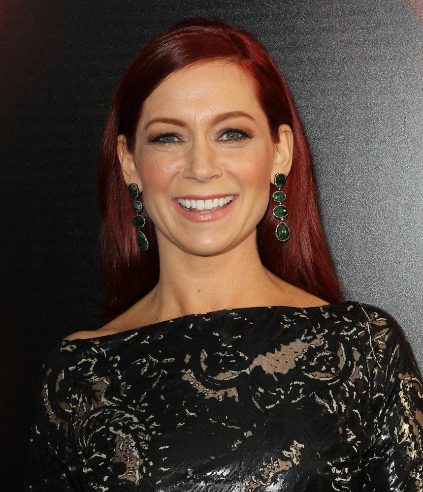 Carrie Preston Who Plays Arlene Fowler Arrives The Premiere Of
