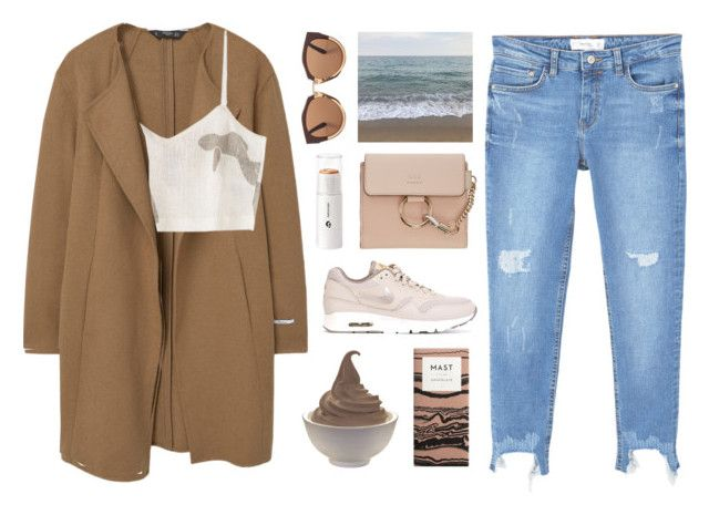 """Untitled #3075"" by tacoxcat ❤ liked on Polyvore featuring MANGO, Paloma Wool, Marni, Chloé and NIKE"